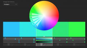 analagous colour scheme